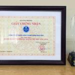Hung Thinh Construction vinh dự đón nhận giải thưởng Thương mại Dịch vụ tiêu biểu 2016